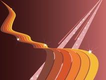 ουράνιο τόξο φθινοπώρου Στοκ εικόνες με δικαίωμα ελεύθερης χρήσης
