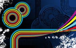 ουράνιο τόξο 2 σχεδίου Στοκ Φωτογραφίες