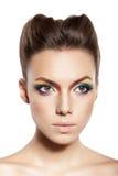 Ουράνιο τόξο makeup Στοκ φωτογραφία με δικαίωμα ελεύθερης χρήσης
