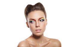 Ουράνιο τόξο makeup Στοκ Εικόνα