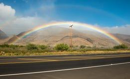 Ουράνιο τόξο Maui Χαβάη Στοκ Εικόνα