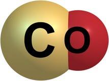 Ουρακίλης δομή που απομονώνεται μοριακή στο λευκό Στοκ εικόνα με δικαίωμα ελεύθερης χρήσης