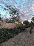 Ουρανοί ερήμων intercity στοκ φωτογραφίες