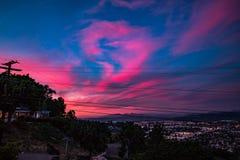 Ουρανοί Καλιφόρνιας Στοκ Εικόνες