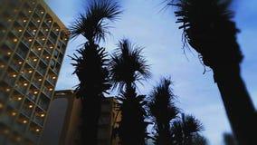 Ουρανοί παραλιών στο σούρουπο στοκ φωτογραφίες