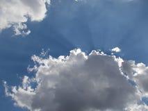 Ουρανοί σύννεφων Στοκ Εικόνα