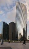 ουρανοξύστες ανθρώπων Στοκ Εικόνες