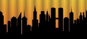 ουρανοξύστες αυγής Στοκ φωτογραφίες με δικαίωμα ελεύθερης χρήσης