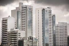 Ουρανοξύστες, βιομηχανική αρχιτεκτονική Στοκ Εικόνες