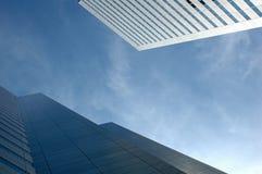 ουρανοξύστες γραφείων του Μόντρεαλ Στοκ Εικόνες