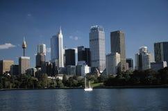 ουρανοξύστες κόλπων ανα&s στοκ εικόνα
