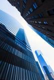 Ουρανοξύστες Νέα Υόρκη του Μανχάταν Πύργων της Ελευθερίας Στοκ Εικόνες