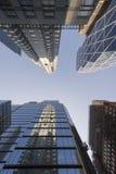 Ουρανοξύστες οριζόντων της Νέας Υόρκης Στοκ Φωτογραφία