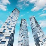 ουρανοξύστες ουρανού Στοκ εικόνες με δικαίωμα ελεύθερης χρήσης