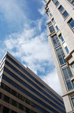 ουρανοξύστες πόλεων Στοκ εικόνα με δικαίωμα ελεύθερης χρήσης