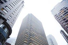 Ουρανοξύστες πόλεων της Βοστώνης Στοκ φωτογραφία με δικαίωμα ελεύθερης χρήσης