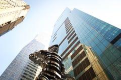 Ουρανοξύστες πόλεων της Νέας Υόρκης Στοκ εικόνες με δικαίωμα ελεύθερης χρήσης
