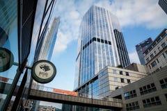 Ουρανοξύστες πόλεων του Λονδίνου Στοκ εικόνα με δικαίωμα ελεύθερης χρήσης