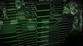 Ουρανοξύστες σε τρισδιάστατο απεικόνιση αποθεμάτων