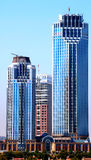 Ουρανοξύστες στην Κωνσταντινούπολη Στοκ φωτογραφία με δικαίωμα ελεύθερης χρήσης