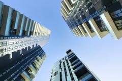 Ουρανοξύστες στην περιοχή Isola στο Μιλάνο, στοκ φωτογραφίες