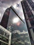 Ουρανοξύστες στην Πράγα στοκ φωτογραφία