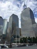 Ουρανοξύστες στην πόλη της Νέας Υόρκης, Νέα Υόρκη στοκ φωτογραφία με δικαίωμα ελεύθερης χρήσης