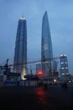 Ουρανοξύστες στη Σαγκάη Στοκ Φωτογραφία
