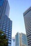 Ουρανοξύστες στις αρχές του βραδιού στοκ φωτογραφία με δικαίωμα ελεύθερης χρήσης