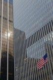Ουρανοξύστες στο Μανχάτταν Στοκ εικόνα με δικαίωμα ελεύθερης χρήσης