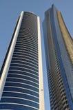 Ουρανοξύστες στο Ντουμπάι Στοκ εικόνες με δικαίωμα ελεύθερης χρήσης