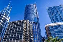 Ουρανοξύστες στο Σίδνεϊ Στοκ Φωτογραφίες