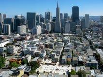 Ουρανοξύστες στο Σαν Φρανσίσκο Στοκ Φωτογραφίες