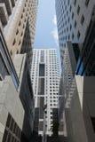 Ουρανοξύστες στο Τελ Αβίβ Στοκ Φωτογραφίες