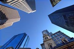 Ουρανοξύστες της Βοστώνης Στοκ φωτογραφία με δικαίωμα ελεύθερης χρήσης