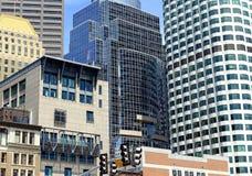 ουρανοξύστες της Βοστών& Στοκ Εικόνα