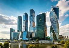 Ουρανοξύστες της Μόσχα-πόλης Στοκ φωτογραφίες με δικαίωμα ελεύθερης χρήσης