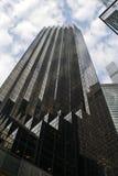 Ουρανοξύστες της Νέας Υόρκης που βλέπουν από από κατω έως επάνω Στοκ φωτογραφία με δικαίωμα ελεύθερης χρήσης