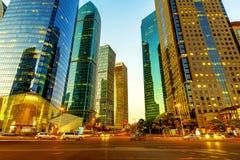 Ουρανοξύστες της Σαγκάη Στοκ Φωτογραφίες