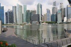 Ουρανοξύστες της Σιγκαπούρης Στοκ Φωτογραφία