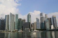 Ουρανοξύστες της Σιγκαπούρης Στοκ Φωτογραφίες