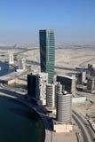 ουρανοξύστες του επιχειρησιακού Ντουμπάι κόλπων στοκ φωτογραφία με δικαίωμα ελεύθερης χρήσης