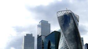 Ουρανοξύστες του διεθνούς εμπορικού κέντρου της Μόσχας φιλμ μικρού μήκους