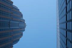 Ουρανοξύστες του Μανχάτταν Στοκ Εικόνα