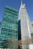 ουρανοξύστες του Μανχάτ&t Στοκ εικόνες με δικαίωμα ελεύθερης χρήσης