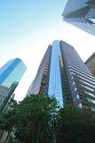 ουρανοξύστες του Μανχάτ&t Στοκ φωτογραφία με δικαίωμα ελεύθερης χρήσης