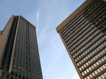 ουρανοξύστες του Μόντρε Στοκ εικόνα με δικαίωμα ελεύθερης χρήσης