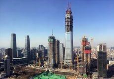 Ουρανοξύστες του Πεκίνου Στοκ φωτογραφία με δικαίωμα ελεύθερης χρήσης