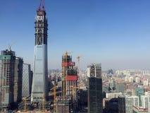 Ουρανοξύστες του Πεκίνου Στοκ Εικόνα