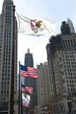 ουρανοξύστες του Σικάγου Στοκ Φωτογραφίες